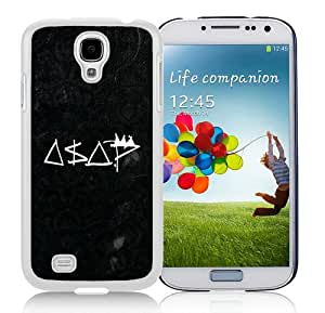 New Unique And Popular Samsung Galaxy S4 I9500 Case Designed With asap rocky White Samsung S4 Cover