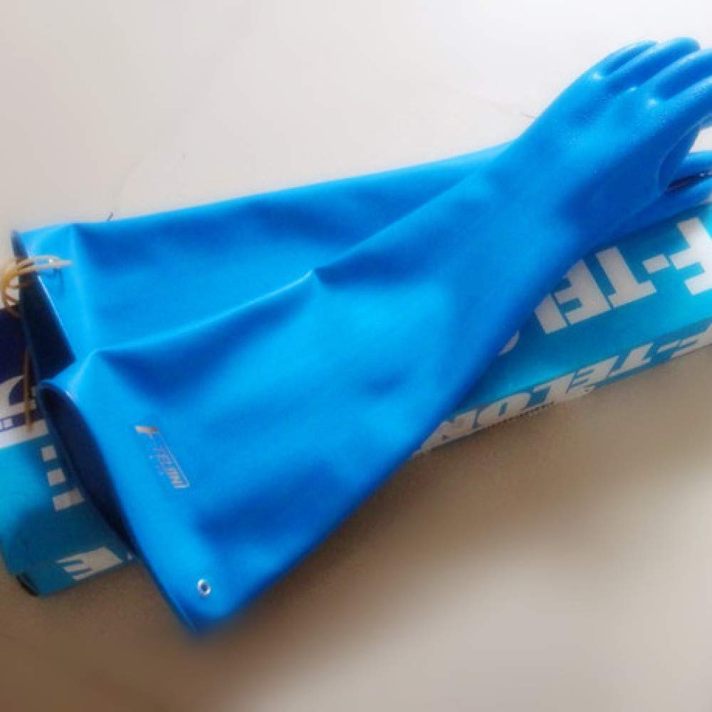 Yyzhx Industrial Gloves Anti-hydrofluoric acid Gloves anti-Wang Shui acid resistant acid alkali gloves