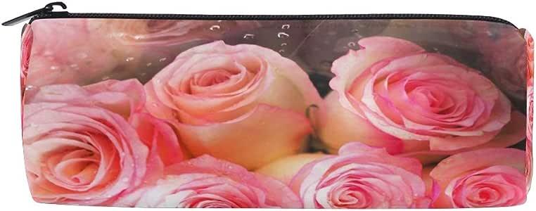 Estuche de lápices Cilindros de forma cilíndrica Rosas preciosas ...
