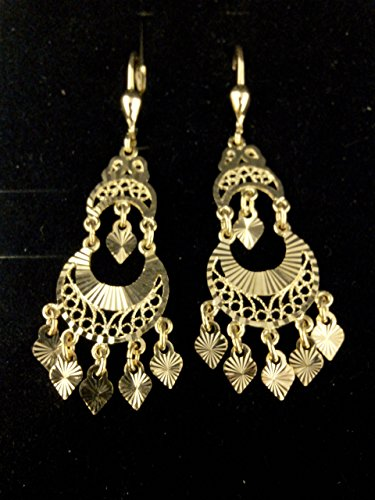 boucles d'oreilles Savoyarde or jaune 375/1000