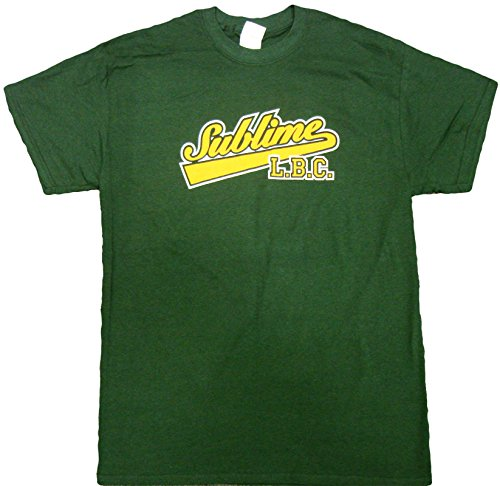 Sublime LBC Adult T-Shirt (Medium, Green)