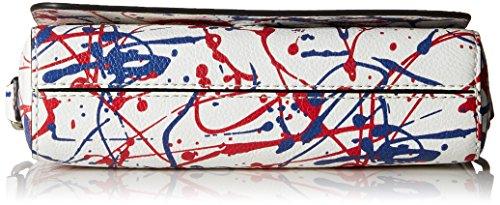 Bag Marc Splatter Paint Body White Cross Multi Jacobs wr55FxqX