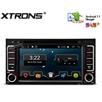 XTRONS 6.2 Inch Android 7.1 HD Digital Multi-touch Screen Car Stereo DVD Player Radio OBD2 DVR Full RCA Output for Subaru