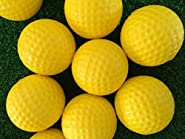 12 Combo Soft Foam M&X Practice Golf Ball