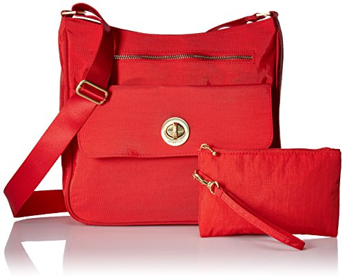 Hibiscus Baggallini Flap Top Antalya Zip Crossbody OZOXqw