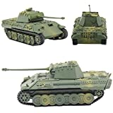 H&W 4D Model Tank, 1:72 Box Assembly Tank Model, German Panther Tank, 30 Component, (HH6-D3)