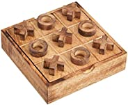 5x5 Wood Tic Tac Toe Handmade Naughts and Cross XOXO   Travel Game Indoor Outdoor Activity Family Fun Parties Vintage Tablet