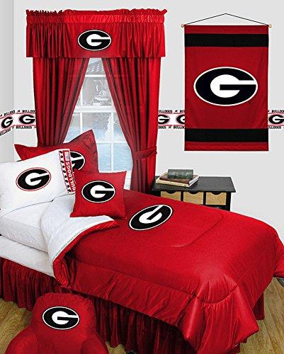 georgia bulldogs queen sheets - 8