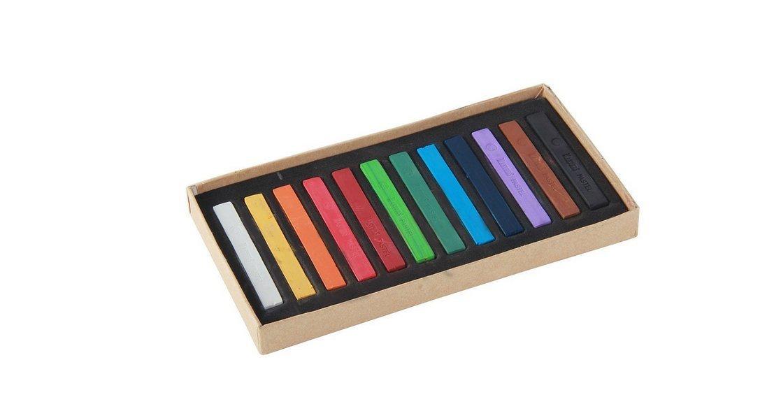 Yeah67886Lot de 12couleurs pastels Craie pour art Dessin Scrapbooking (lot de 12)