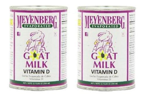 Meyenberg Evaporated Goat Milk -- 12 fl oz (Pack of 2)