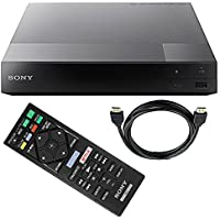 Sony BDP-S6700 3D Smart Blu-Ray Disc Player with 4K Upscaling and Tmvel HDMI Cable + Remote