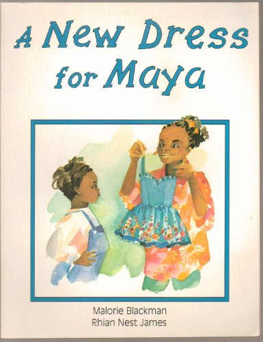 Book cover for A New Dress for Maya