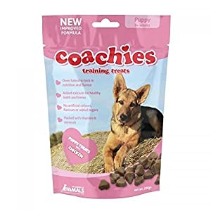 BULK BUY - 8 packs Coachies Puppy Training Treats (Pack Size: 200g Packet) - Great for dog training classes 8