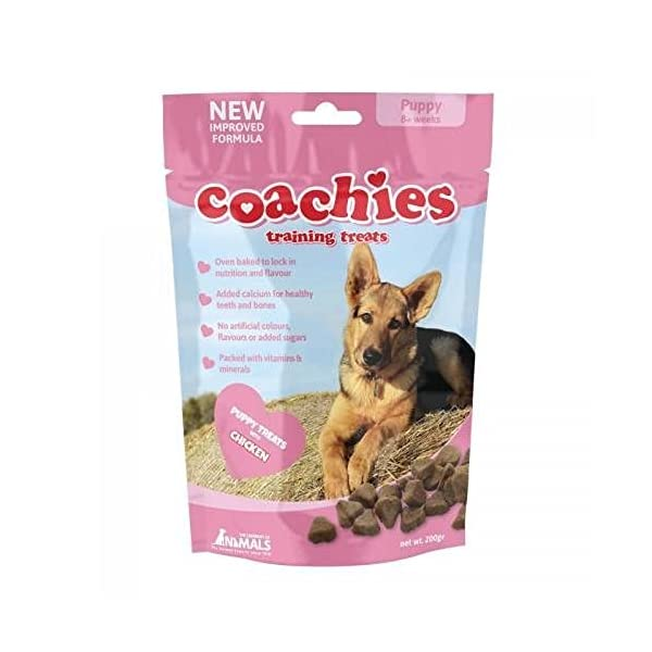 BULK BUY - 8 packs Coachies Puppy Training Treats (Pack Size: 200g Packet) - Great for dog training classes 1