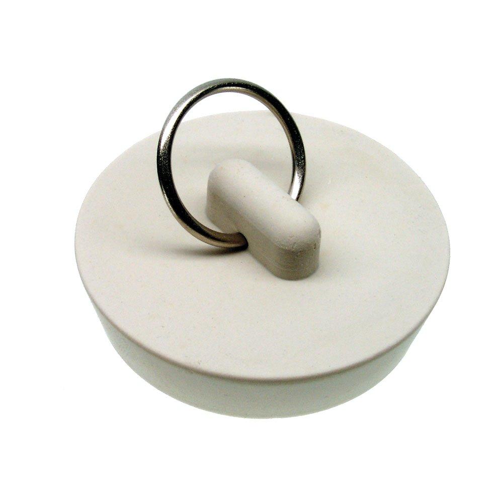 "Danco, Inc. 80228 Stopper Drain Rubber 1-5/8 White 1-5/8"" - 1 per Card"
