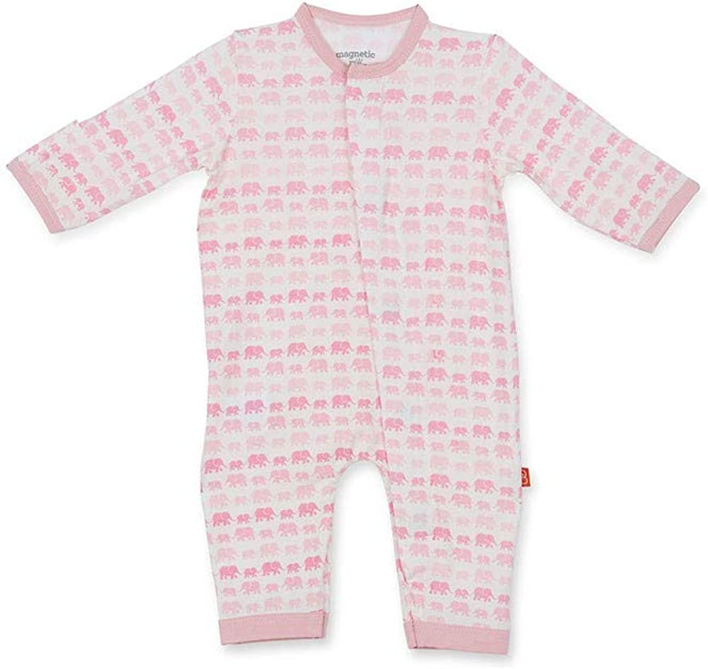 Magnificent Baby Magnetic Me Magnetic Easy-Close Modal Coverall