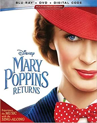 Amazon com: Mary Poppins Returns [Blu-ray]: Emily Blunt, Lin