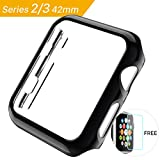 watch bumper - hoco. PC Protective Case for Apple Watch iWatch Series 2/Series 3 Plating Cover Shell Bumper Case Black-42mm
