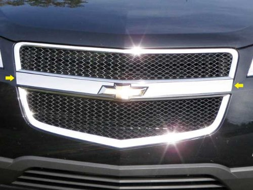 QAA FITS TRAVERSE 2009-2012 CHEVROLET (2 Pc: Stainless Steel Grille Accent Trim - around logo, 4-door, SUV) SG49165