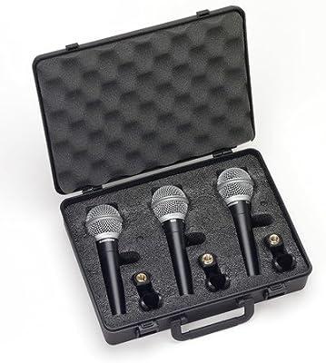 Samson R21S 3 Pack - Maleta 3 micrófonos R21: Amazon.es ...