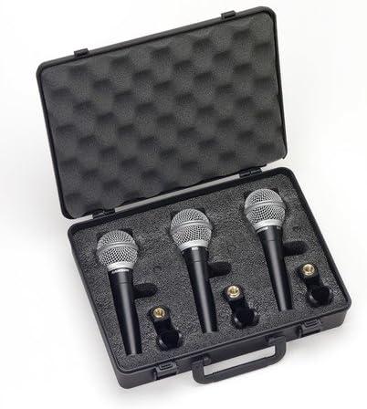 Samson R21S 3 Pack - Maleta 3 micrófonos R21