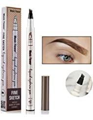Tetyana naturals Tattoo Eyebrow Pen Waterproof Ink Gel...