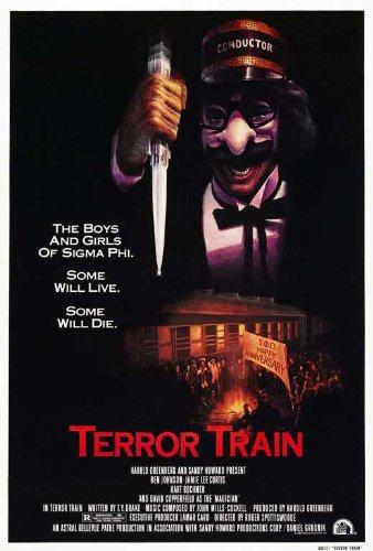 amazon com terror train poster movie 27 x 40 inches 69cm x 102cm