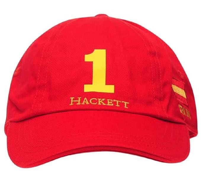 Hackett London Gorra World Cup Cap Mens Rojo: Amazon.es: Ropa y ...