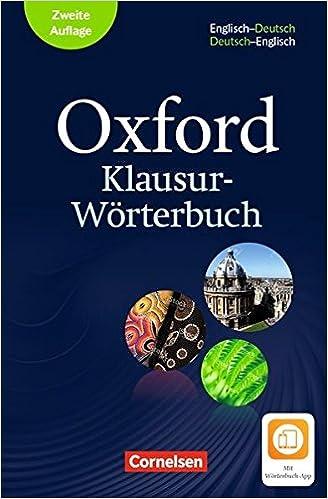 Oxford Klausur-Wörterbuch - Ausgabe 2018: B1-C1 - Wörterbuch ...