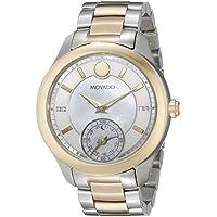 Movado Women's 0660005 Analog Display Swiss Quartz Two Tone Smartwatch