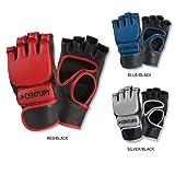Open Palm/Finger Bag Gloves Blu/Blk Ad M/L