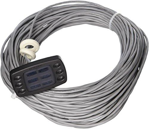 Hayward Goldline AQL-SS-6B-B ProLogic Wired Spa Side Remote Control, Black