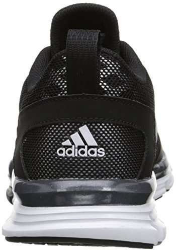 Adidas Performance Speed â??â??Trainer 2 W Calzado, Negro / metálico de carbono / blanco, 5 M US Black/Carbon Metallic/White