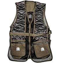 Challenger Men's Shooting Vest - Sporting Clay Pigeon Trap Skeet - Sizes M thru XXL