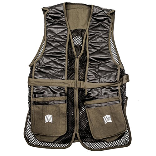 Challenger Men's Shooting Vest – Sporting Clay Pigeon Trap Skeet – Sizes M thru XXL – DiZiSports Store