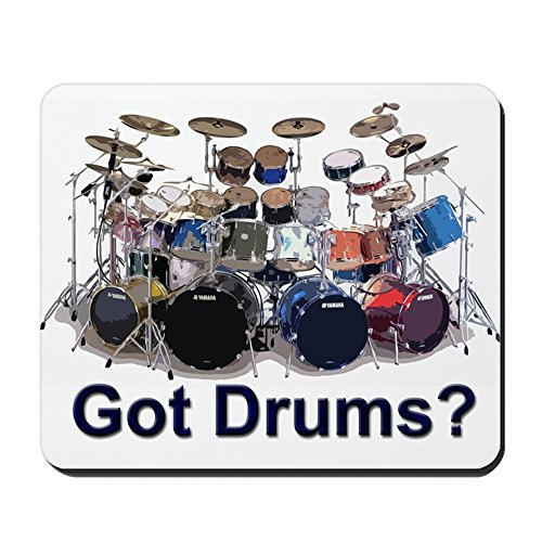 CafePress - GOT DRUMS Mousepad - Non-slip Rubber Mousepad, Gaming Mouse (Ludwig Custom Drum)