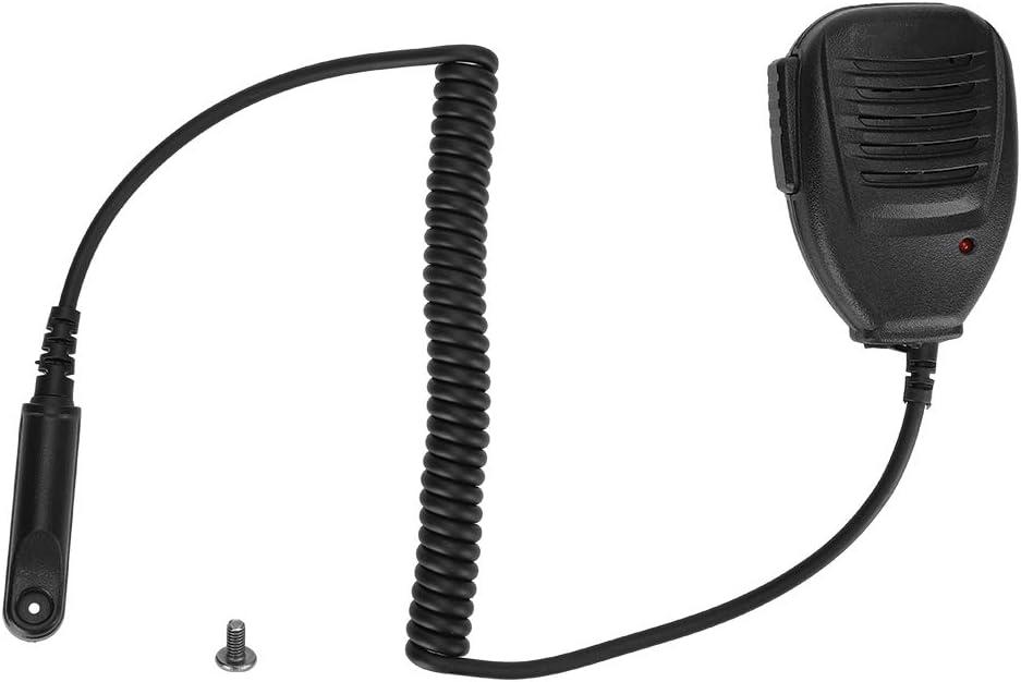 UV-82WP Radios de 2 v/ías UV-9R Plus M ugast Walkie Talkie Mic Speaker BF-R760 para Baofeng UV-9R BF-9700 GT-3WP BF-A58 Micr/ófono de Altavoz de Mano de Radio bidireccional a Prueba de Agua
