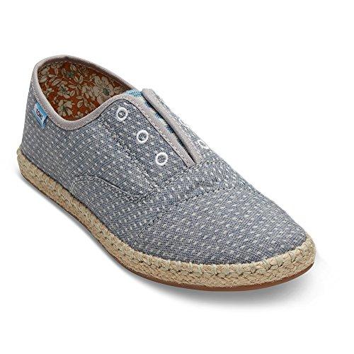 Pantofola Antiscivolo A Forma Di Palma, Pantofola Di Vetro-flamboyant Chambray-d