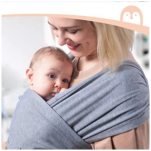 Baby-Wrap-Carrier-Slings-Adjustable-Baby-Carrier-for-Babies-Girl-and-Boy-Easy-to-Wear-Infant-Carrier-Slings-for-Newborn