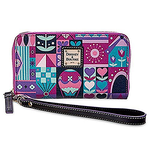 Disney It's A Small World Wallet by Dooney & Bourke New - Dooney & Bourke Lined Wallet
