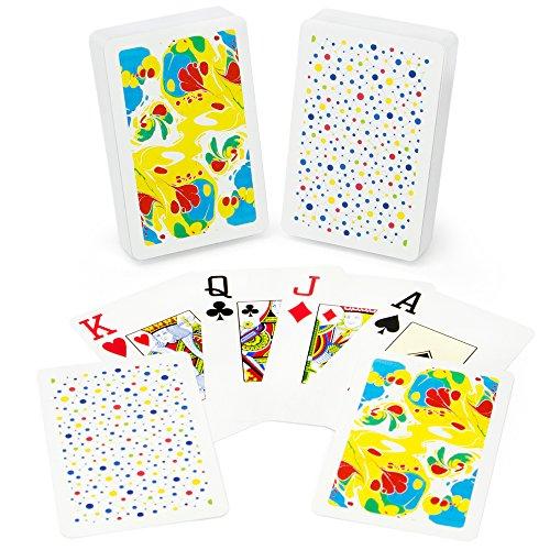 Copag Neo Ink 100% Plastic Playing Cards, Bridge Size, Jumbo Index