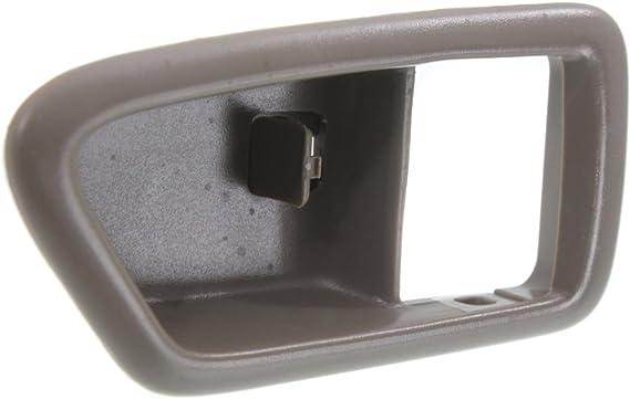 CAMRY 97-01//SOLARA 99-03 FRONT DOOR HANDLE CASE LH,Inside,Light Gray,Bezel Only