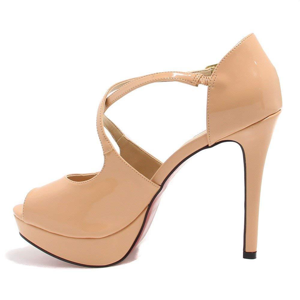 070e23e68 Sapato Zariff Shoes Peep Toe Numeração Grande  Amazon.com.br  Amazon Moda