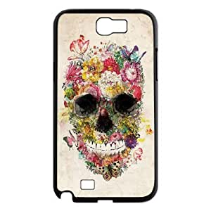 Skull Brand New Cover Case for Samsung Galaxy Note 2 N7100,diy case cover ygtg556573