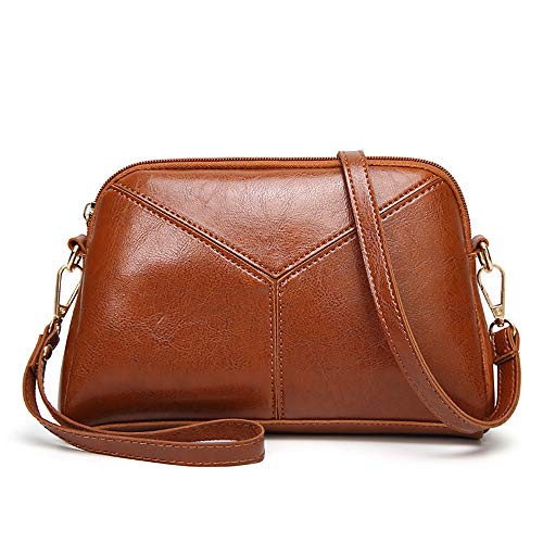 Women PU Leather Wristlet Clutch Crossbody Bag With Strap Cell Phone Purse Signature Wallet Handbag
