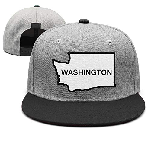 smsdpmc Washington-Cool-State- Cotton Casual Trucker hat Adjustable Fits Mesh Baseball Caps for Man and Woman