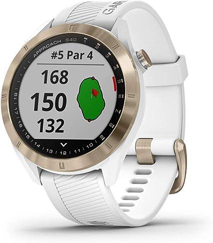 Amazon.com: Garmin Approach S40 - Reloj inteligente con GPS ...