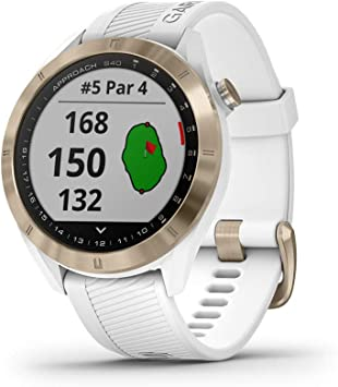 Garmin Approach S40 Smartwatch Golf GPS Acero Silicona Blanco 010 ...