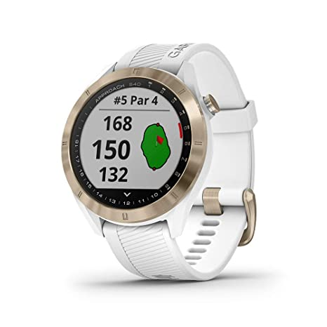 Garmin Approach S40 Smartwatch Golf GPS Acero Silicona ...