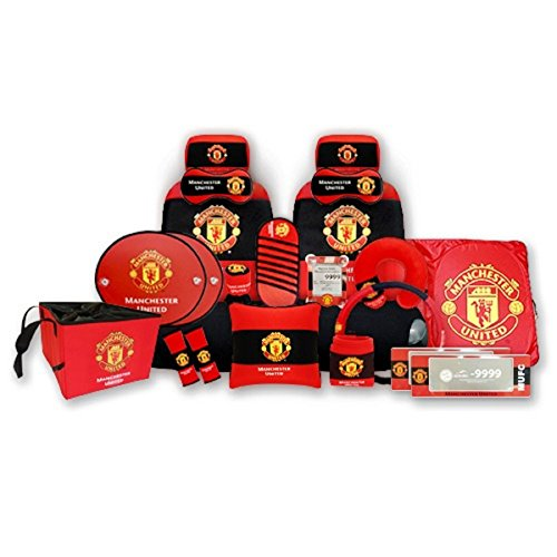 United Car Finance United Car Finance: Manchester United Full Car Accessory Set, Over 20 Pieces 2017